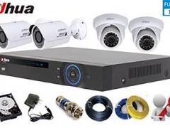Hệ thống 04 camera giám sát Dahua FullHD tại nhà anh Mạnh Thôn thượng Bình Minh Thanh Oai Hà Nội