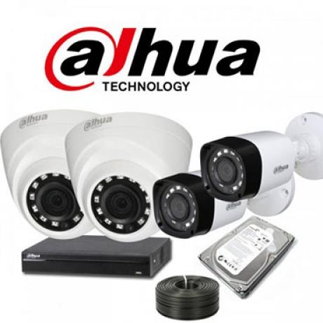 Hệ thống camera Dahua 4M - Khách hàng anh Kháng Thôn Thượng Bình Minh Hà Nội