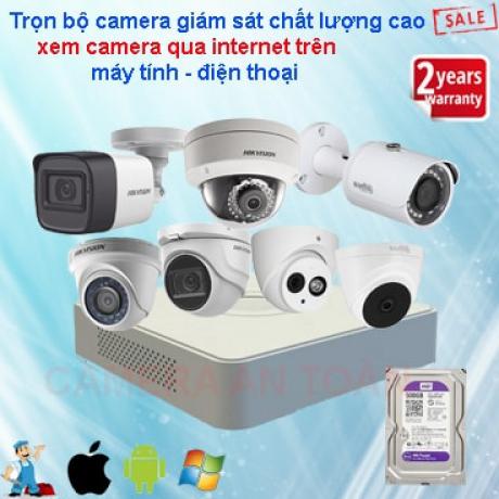 Lắp đặt camera giám sát giá rẻ chính hãng