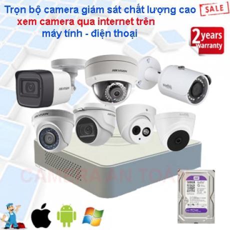 Lắp camera an ninh chính hãng uy tín chất lượng