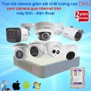 Lắp camera an ninh ban đêm rõ nét chính hãng giá rẻ