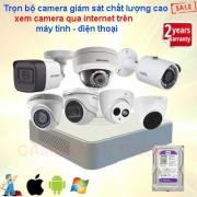 Lắp camera an ninh bằng điện thoại chính hãng giá rẻ