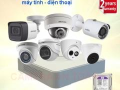 Lắp đặt camera chống trộm kết nối với điện thoại chính hãng