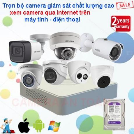 Lắp camera giám sát gia đình loại tốt chính hãng