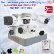 Lắp camera an ninh cho gia đình giá rẻ chính hãng