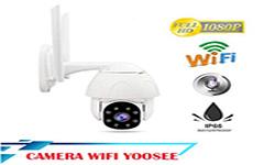 lắp camera wifi không dây yoosee 2 râu sử dụng ngoài trời