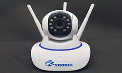 lắp camera wifi không dây yoosee ốp trần