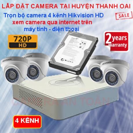 Lắp đặt camera giám sát tại huyện Thanh Oai