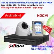 TRỌN BỘ CAMERA 16 KÊNH DAHUA HDCVI FULL HD 1080P GIÁ RẺ