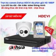 TRỌN BỘ CAMERA 16 KÊNH DAHUA HDCVI FULL HD 1920X1080P CHẤT LƯỢNG CAO