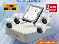 TRỌN BỘ CAMERA HIKVISION HD 720P CAO CẤP